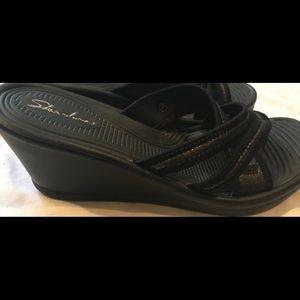 Skechers slip-on sandals size 7